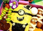 Tự làm những hộp cơm Bento thật yêu cho bé trong lễ Halloween