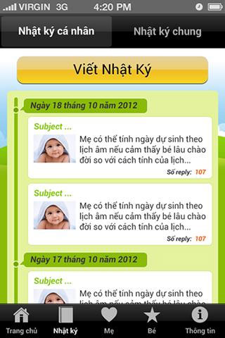 Điểm danh 5 ứng dụng điện thoại quản lý thai kỳ thông minh cho bà bầu