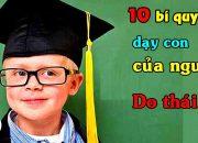 10 Phương pháp dạy con của người Do thái –  Mẹ nào cũng nên biết