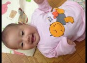 dạy con thông minh kiểu nhật: bé 4 tháng tuổi học ú òa với mẹ /sự phát triển của trẻ 4 tháng