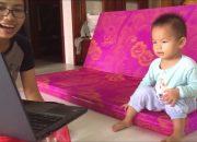 Dạy con song ngữ Anh Việt | Bé 1-2 tuổi | Cách mẹ đặt câu hỏi