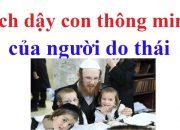 cách dạy con thông minh của người do thái-chăm sóc mẹ và trẻ.