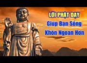 Lời Phật Dạy giúp Cuộc Sống KHÔN NGOAN HƠN Bạn Nên Nghe 1 Lần Trong Đời