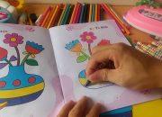 Bé Tập Tô Kid Paints Hướng dẫn bé tô màu các loại hoa – bài tập tô dành cho bé từ 3 đến 5 tuổi