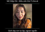 MC Diệp Chi chia sẻ cách nuôi dạy Sumo ngoan ngoãn