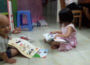 Dâu Tây Gần 4 Tuổi Đọc Sách … Dạy Trẻ Đọc Sách Sớm
