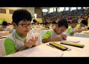 Tính nhẩm nhanh cho trẻ 4 tuổi đến 12 tuổi  –  Bàn tín cổ soroban – tiết 1 – nhập môn