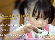 7 Ngày Hết Biếng Ăn – Phải làm thế nào khi bé vừa ăn vừa xem tivi?