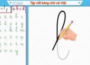 Dạy bé học viết chữ cái tiếng việt – tuti channel