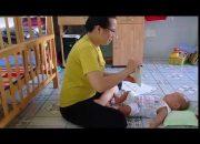 Dạy trẻ thông minh sớm phương pháp Glenn Doman, bé Sampo 3 tháng tuổi học thẻ