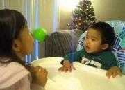 Dạy trẻ tập nói-Chị dậy em tập nói-1 tuổi