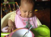 ĂN DẶM KIỂU NHẬT/ ăn dặm cho trẻ 5 tháng 2 tuần ăn rất ngon miệng