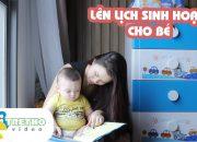 Lên lịch sinh hoạt cho bé 8 – 10 tháng tuổi | Webtretho