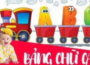 Dạy bé học bảng chữ cái tiếng việt ABC giúp bé học nhanh nhớ lâu