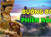 Người Đau Khổ Phiền Não hãy nghe Lời Phật dạy – Đau khổ tại tâm và cách Buông Bỏ trút mọi Buồn Phiền