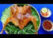 Món Ăn Ngon – GÀ NƯỚNG MUỐI ỚT cùng sốt chấm ngon tuyệt