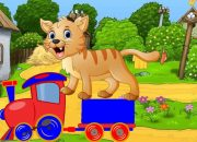 Dạy bé học các loài vật tiếng việt | em tập nói con vật qua tiếng kêu | Dạy trẻ thông minh sớm