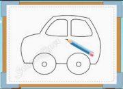 BÉ HỌA SĨ – Thực hành tập vẽ 228: Vẽ ô tô
