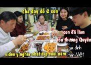 Cha chồng Hàn Quốc dạy con trai và con dâu Việt sự tôn trọng, lời khen, tình yêu thương nhau