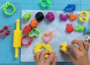 Trò chơi trẻ em | hướng dẫn làm đất nặn đồ chơi play doh nhiều màu sắc | Dạy trẻ thông minh sớm