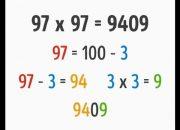 Thủ Thuật Tính Nhẩm – Thủ Thuật Nhân 9 (Multiplication by 9)