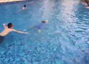 An brothers | Dạy bé 5 tuổi bơi ếch | Hướng dẫn bơi ếch | Bơi ếch cơ bản