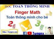 Cách dạy finger math cho bé hay hiệu quả nhất | Học toán Finger Math  | Tungnx