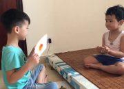 [CEC] Tiếng Anh Trẻ Em 4 – 6 Tuổi – Anh trai dạy em tiếng Anh sau giờ học