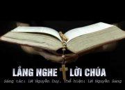 Thánh Ca | Lắng Nghe Lời Chúa – LM Nguyễn Sang [Video Lyrics]