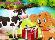 Con vật cho bé yêu ngoan và dễ học | Dạy bé học con vật online 2017