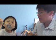 Ngôn ngữ nhảy múa #01 | Ba dạy con gái Cindy hát Ba Ngọn Nến Lung Linh, bé hỏi không biết trả lời