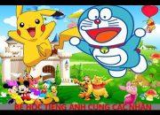 Dạy Trẻ 3 – 8 Tuổi Học Số Đếm Tiếng Anh – Bé Học Tiếng Anh Cùng Pikachu Và Doremon