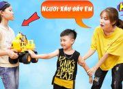 Cậu Bé Nhà Nghèo Không Nghe Lời – Dạy Bé Cảnh Giác Với Người Lạ ♥ Min Min TV Minh Khoa