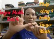 TOÁN THÔNG MINH FINGER MATH BÀI 4 Mầm non dạy con thông minh
