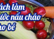 3 Cách nấu nước Dashi dinh dưỡng giúp bé ngon miệng, # chao tang can cho tre # ăn dặm kiểu Nhật P2