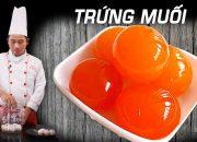 Cách làm Trứng Vịt Muối ngon và đơn giản tại nhà – Dạy nấu ăn | Kỹ Năng Vào Bếp
