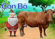 Dạy các con vật cho bé thông minh cùng Ông Già Noel, Dạy bé học màu sắc online – Bé Học Bé Chơi #30