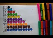 Dạy bé học số và số đếm theo phương pháp Montessori