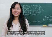 Dạy Bé Phát Âm Các Buổi Trong Ngày, Nói Chúc Ngủ Ngon Bằng Tiếng Anh Một Cách Đơn Giản Nhất