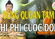 """Giữ Gìn Khẩu Nghiệp – Phật Dạy """"Học Cách Bình Tĩnh Và Đối Diện Với Thị Phi Cuộc Đời""""#Rất_Hay"""