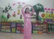 """Dạy trẻ múa """"Bé nhớ giữ vệ sinh"""" – Lớp: 3-4 tuổi, Trường Mầm non Trực Chính"""