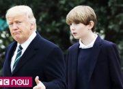 Những sự thật thú vị về cậu út nhà Tổng thống Trump