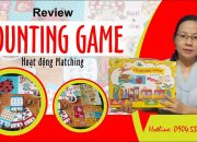 [Giáo dục sớm] Review Counting game (hoạt động Matching)