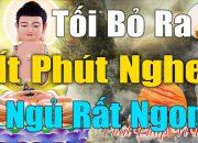 Đêm Trằn Trọc Khó Ngủ Nghe Lời Phật Dạy Cách Để Hết Đau Khổ Tâm An Lành Ngủ Cực Ngon #Rất_Hay