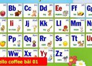 Bảng Chữ Cái Tiếng Anh [Đầy Đủ + Có Phiên Âm Tiếng Việt] – Hello Coffee Bài 01
