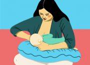 Những tư thế giúp mẹ cho con bú đễ dàng nhất
