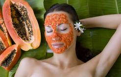 Công thức làm mặt nạ từ đu đủ chăm sóc da khỏe mạnh