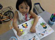 Ngôn ngữ nhảy múa #05   Ba dạy con gái học tô màu và nhận dạng màu sắc bằng tiếng Anh