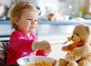 Bé 13 tháng tuổi ăn cơm được chưa