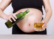 Uống bia khi mang thai 3 tháng cuối